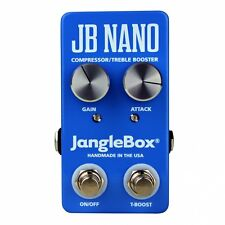 JangleBox JB Nano Compressor/Treble Booster Guitar Effects Stompbox FX Pedal