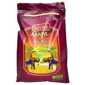 Veetee - Mega - Basmati - Extra langer Premium Reis - 5kg