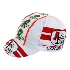 ALFA LUM COLNAGO RETRO CYCLING TEAM CAP - Vintage - Fixed Gear