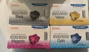 Xerox 8500 Ink Color Set Genuine 12 Cube