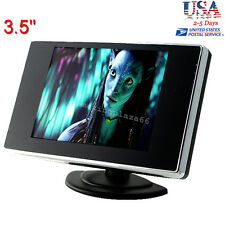 """USA UPS  3.5"""" TFT LCD Color Screen Car Video Rearview Monitor Camera For Car"""