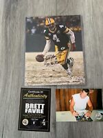 Brett Favre Autographed/Signed 8x10 Photo Green Bay Packers