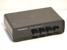 Radio Shack 15-1956B 4-Way Audio/Video Selector Switch