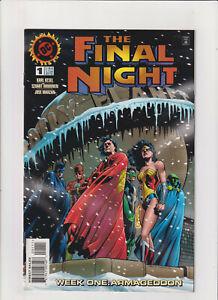 The Final Night #1 NM- 9.2 DC Comics 1996 Superman,Batman,Justice League