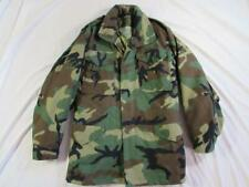 Vtg NOS 80s 1984 M-65 US Army Camouflage Field Jacket W/ Liner Mod Small L Coat