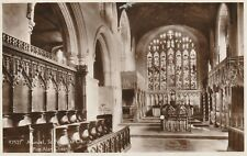"""""""Hundred Year old postcard from collection"""" Arundel, St. Nicholas Church"""