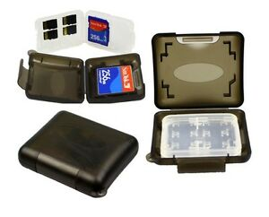 Universal Memory Card Case Hard Storage Box - Micro SD TF CF MS 32GB 16GB 8GB