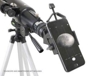 Celestron Basic Smartphone Telescope Camera Adapter & Bluetooth Shutter Release