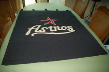 Large 38 x 47 Houston Astros Baseball Fabric quilted Wall Fan Art Home Decor