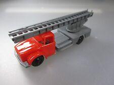 Hauber LKW, made in Greece,Play Truck, Feuerwehr, Fire Engine, Vintage   (SSK64)