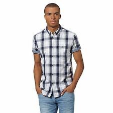 Short Sleeve Button Down Casual Other Tops for Men