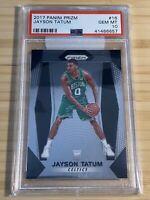 2017-18 Panini Prizm Jayson Tatum #16 Rookie RC PSA 10 (GEM MINT) Boston Celtics