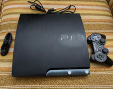 Sony PS3 Slim 3.55 online ready with mod menus and extras