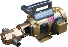Portable Oil Transfer Gear Pump 25gpm