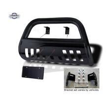 Fits 2004 2015 Nissan Titan Classic Bull Bar Black Bumper Grill Push