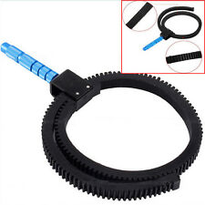 Flexible Gear Ring Belt w/Hand For DSLR Camera Follow Focus Zoom Lens Accessory