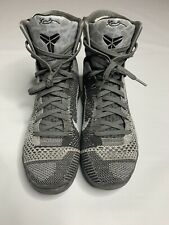 Kobe 9 Elite Detail, Gray And Black. Size 9. Excellent Condition