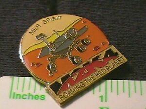 NASA MARS EXPLORATION ROVER (MER) SPIRIT MER M2K4 2004 COMMEMORATIVE LAPEL PIN