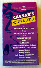 Caesar's Writers ~ New VHS Movie Video ~ Classic Comedy Show Brooks Reiner Sid