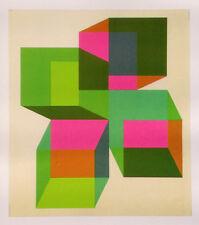 Joe Stoneman print - new!  (Pop Art/Victor Vasarely/Richard Anuszkiewicz genre)
