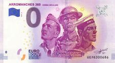 14 ARROMANCHES 360 Cinéma circulaire 3, N° de la 7ème, 2019, Billet 0 € Souvenir