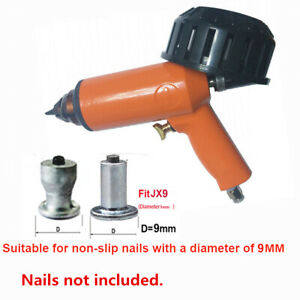 Air Gun Tool for 9mm Screws Automotive Winter Tire Stud Installation w/ Nail Box
