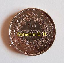 10 Francs Hercule 1967  Variété avec É sur RÉPUBLIQUE