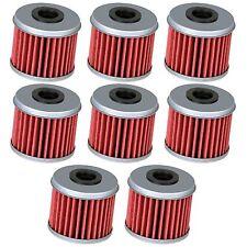 *8-PACK* Honda TRX450R TRX450ER Oil Filter Filters Rpl 15412-MEN-671
