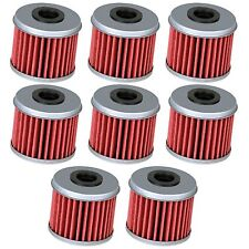 8 Oil Filter Filters for Honda CRF150R CRF150RB CRF250R CRF250X CRF450R CRF450X