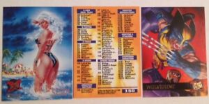 1995 X-MEN FLEER ULTRA SERIES MARVEL COMPLETE 150 cd SET~Deadpool~Wolverine~Psyl