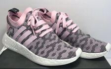 Adidas Womens SZ 10 Originals W NMD_R2 PK Boost Running Wonder Pink Black BY9521