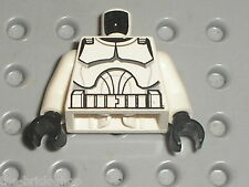 Buste Personnage LEGO Minifig Star Wars Clone Trooper Torso 76382 88585 / 8098..