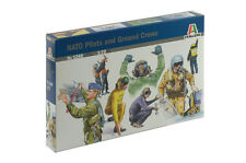 Italeri NATO Pilotos y Ground Crew - 1/72 Escala - 1246
