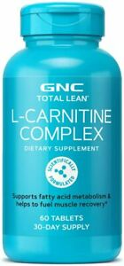 GNC Total Lean L-Carnitine Complex, 60 Tablets, Supports Muscle Recovery