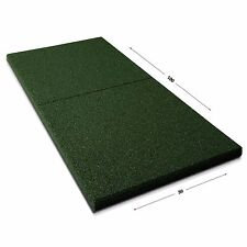 Fallschutzmatten | Play Protect Plus | Grün | 22 mm Stärke | 100x50 cm |