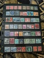 Switzerland Stamp Collection - Used - 2 Scans - W79