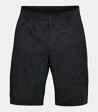 Under Armour UA Showdown Vented Golf Shorts Size 40 1309551 Black Steel Light