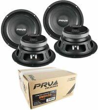 "4x PRV Audio 8MB450 v2 8"" Midbass Woofer 8 Ohms 1800 Watts Pro Car Audio"
