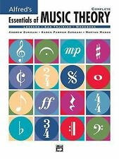 Alfred's Essentials of Music Theory, Complete (Lessons Ear Training Workbook)