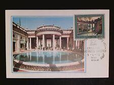 ITALIA MK 1975 MONTECATINI TERME MAXIMUMKARTE CARTE MAXIMUM CARD MC CM c8642