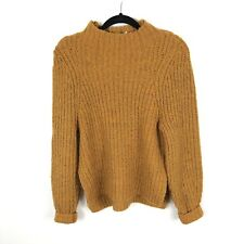 Leith Women's Mock Neck Sweater Size Small