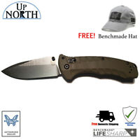 New!! Benchmade 980 Turret Knife Satin S30V Blade with G10 Handle