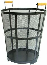 Log Bin 1.5 ft. Steel 