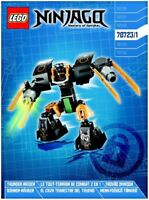 LEGO - NINJAGO -  - 70723 - INSTRUCTIONS!