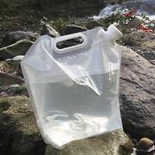 10L pliant potable Sac Porteuse seau d'eau réservoir Stockage Camping Randonnée