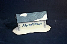 Alpine Village Sign The Heritage Collection Department 56