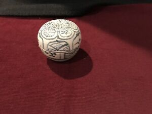 Antique Hoi An Hoard Shipwreck 15th Century Covered round Box Spice Jar 192690