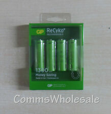 4 x GP AA Batteries NEW - for BT Diverse Cordless Phones, 2010, 3010, 4010 etc