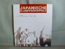 Japanische Kampfhörspiele- Live in Trier- 6 Tracks aus 2004- WIE NEU- lesen