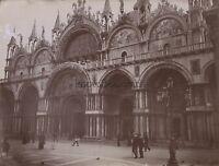 Chiamato Venezia Italia Foto Amateur Vintage Citrato Ca 1900